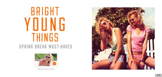 victorias secret bright young things