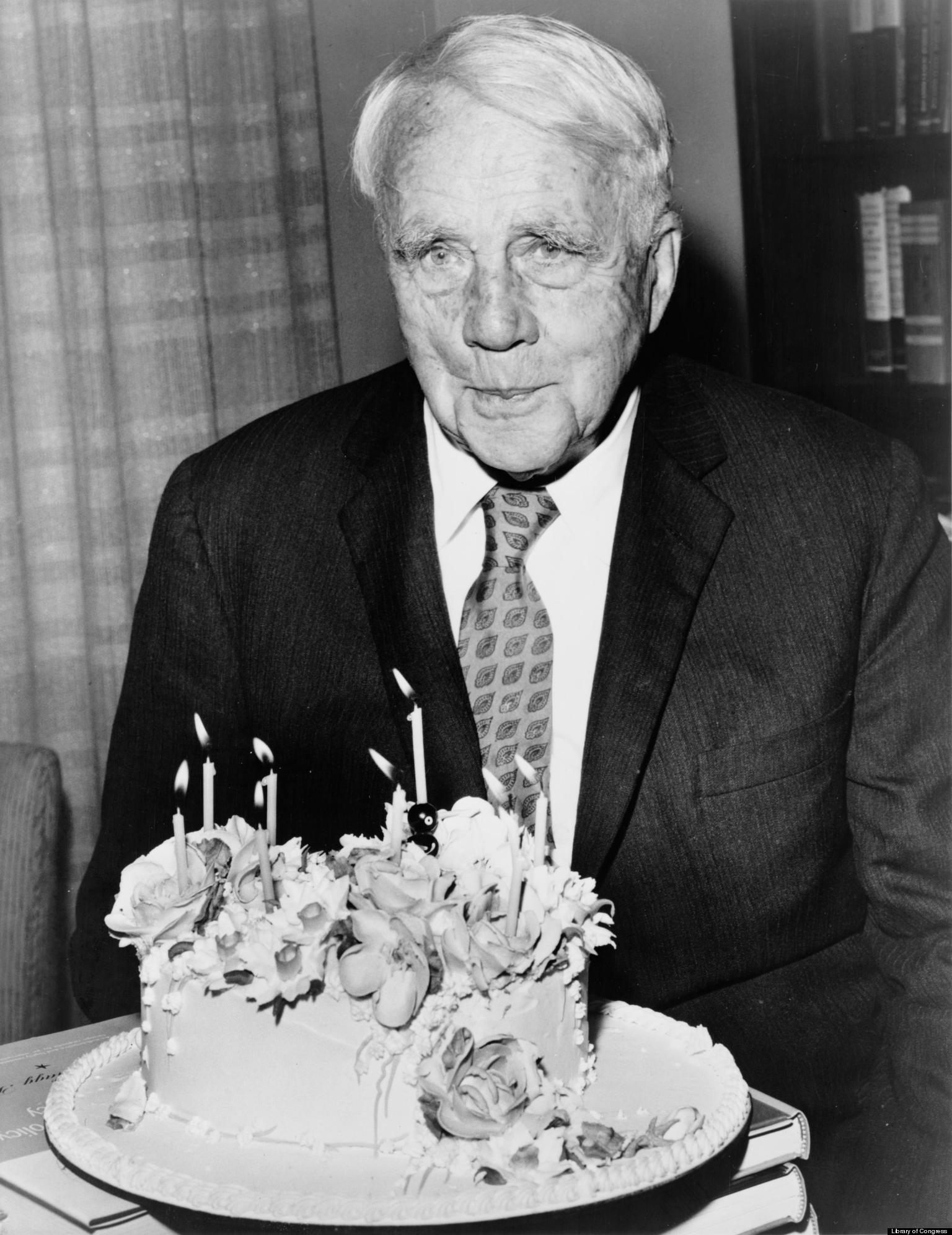 Robert Frost and his Poems