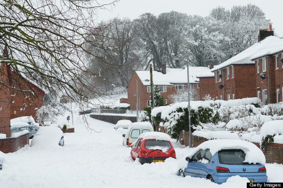 uk weather snow