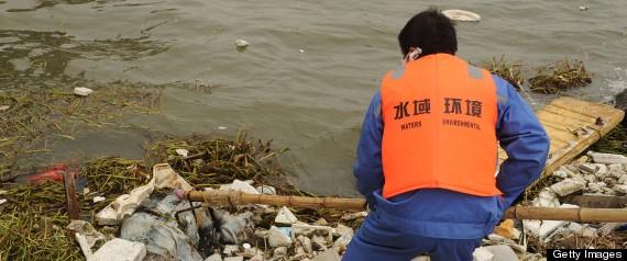 CHINA DEAD DUCK RIVER
