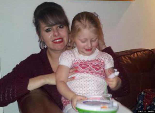 olivia and mum
