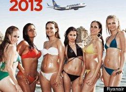 Ryanair no podrá seguir exhibiendo azafatas en bikini