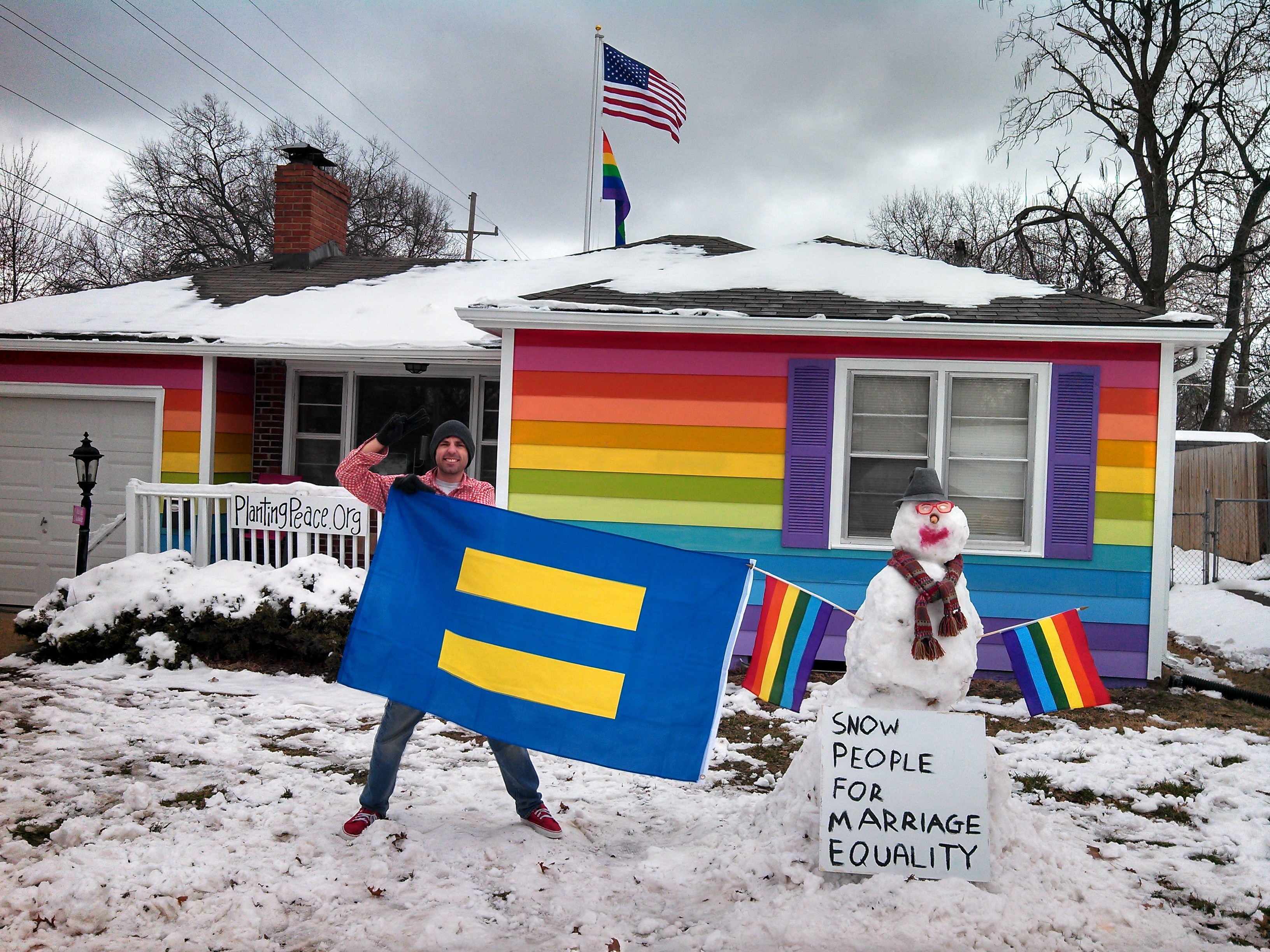 snowmansupportsmarriageequality