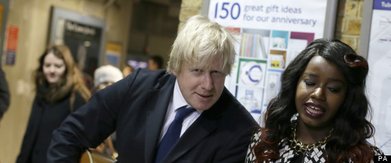 Boris Johnson Misha B