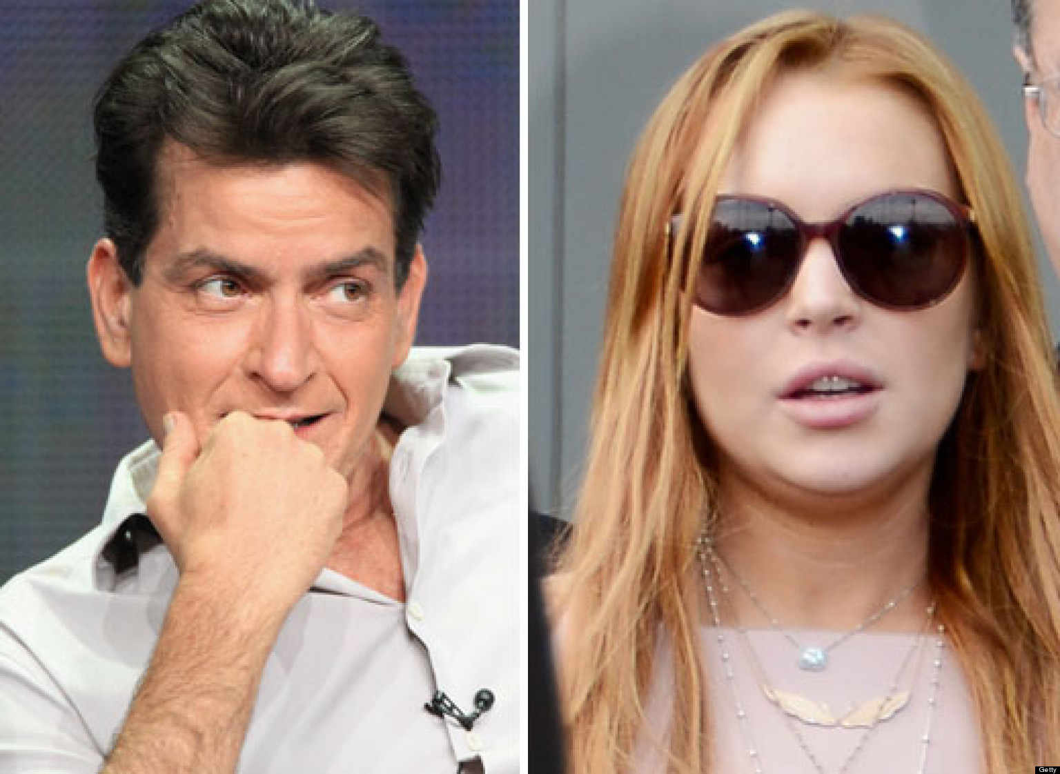 Lohan, Sheen In Bed Together?