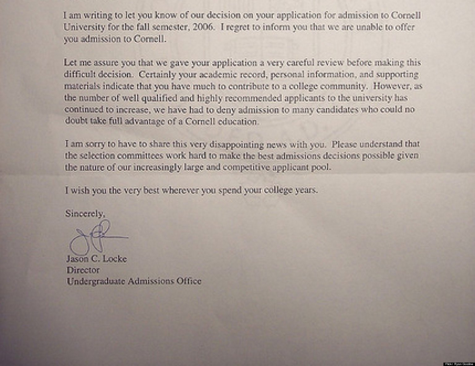 College Rejection Hey Its OK If You Didnt Get Into
