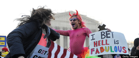 Gay Rights Protesters 79
