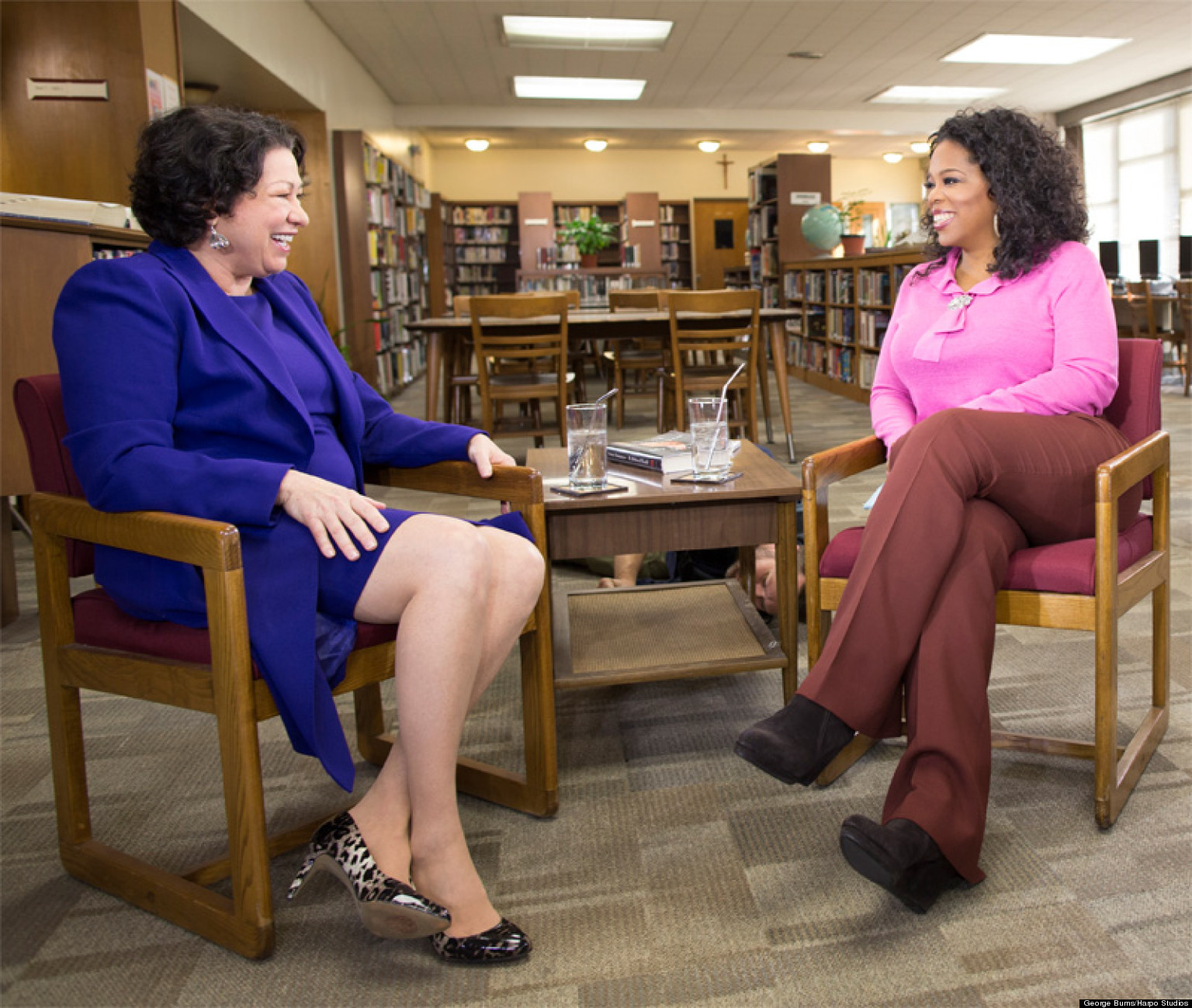 WATCH: How To Raise A Supreme Court Justice