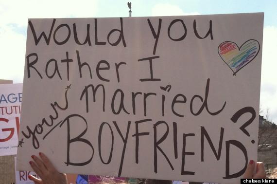 married your boyfriend