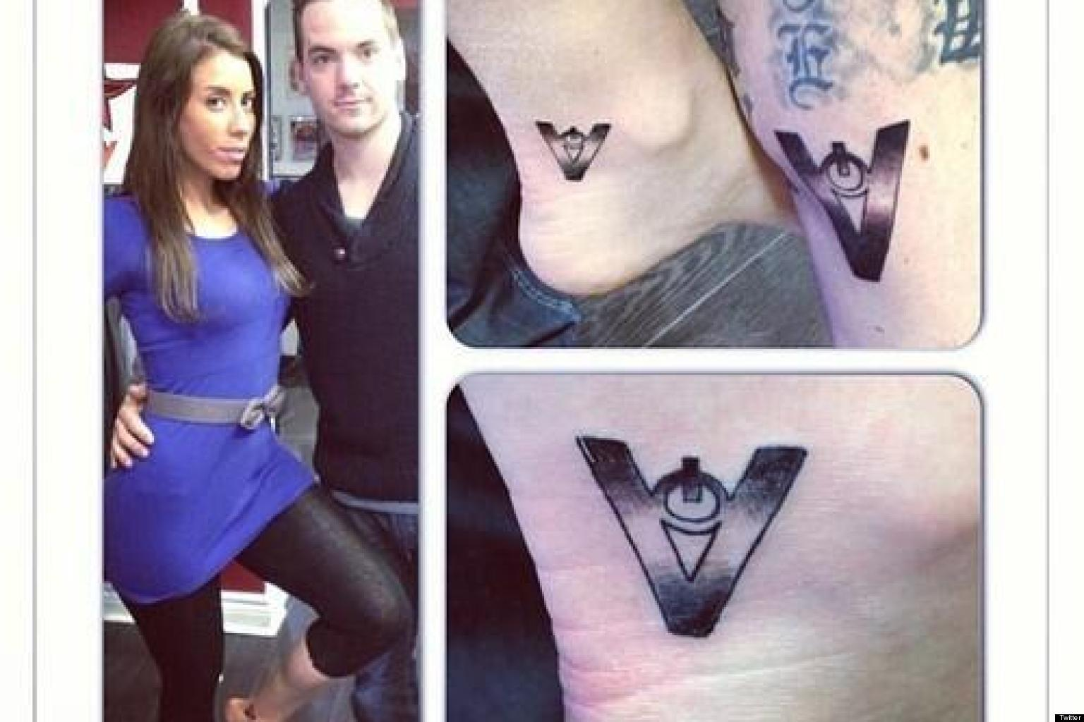 Big Brother Canada Tattoos Showmance Tom And Liza Get Matching Set