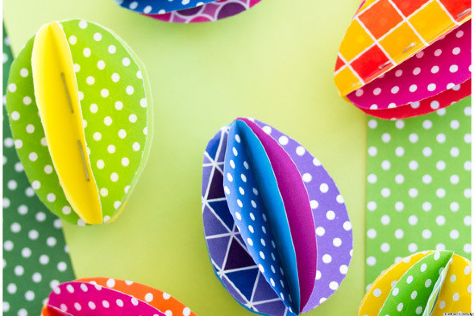 Easter Ideas: 8 Quick And Easy Holiday Crafts Using Paper (PHOTOS) The Huffington Post