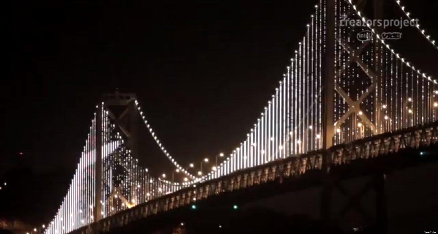 The Bay Lights: 25,000 Leds Illuminate