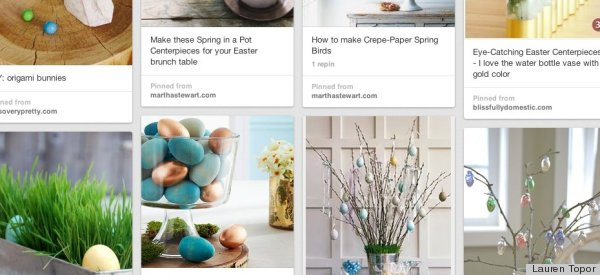 Easter home decorating ideas pinterest easter diy spring home decor the 36th avenue with diy Home decor pinterest boards to follow