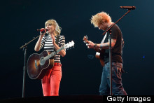Taylor Swift And Ed Sheeran Aren't Helping Put Relationship Rumours To Bed