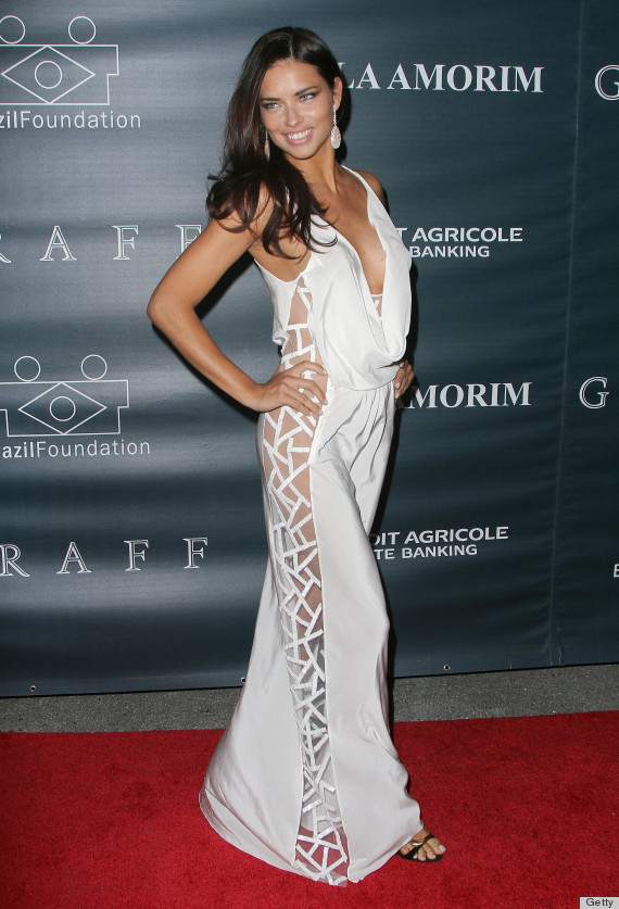 adriana lima backwards dress