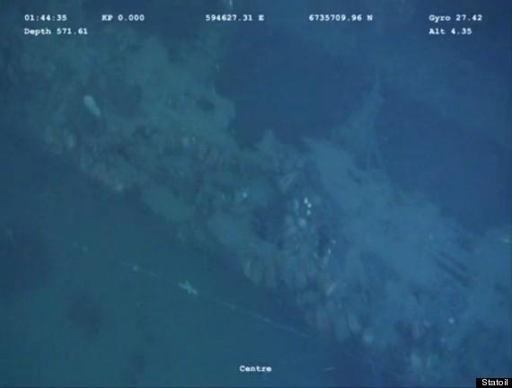 nazi submarine found norway