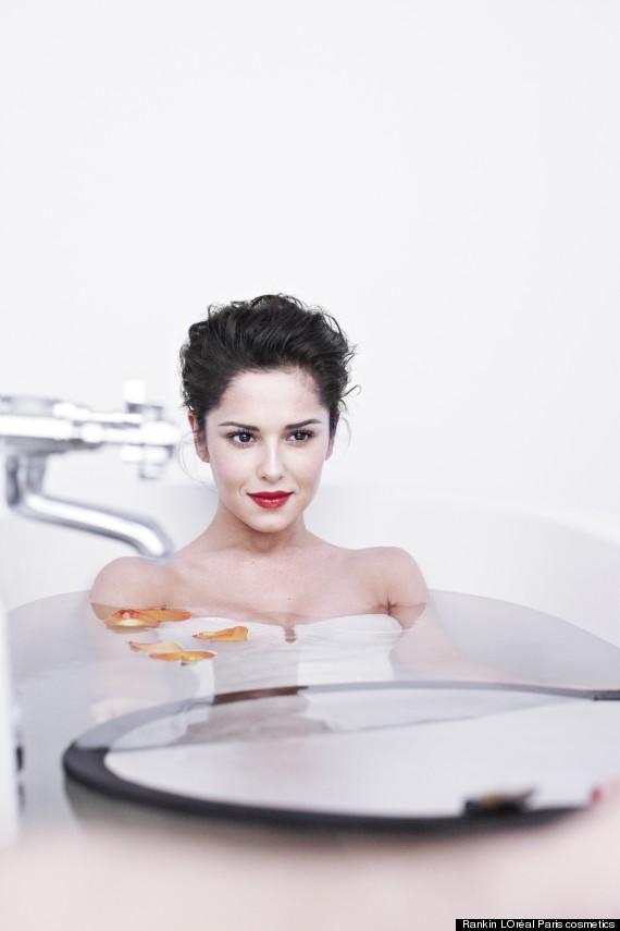 cheryl in bath