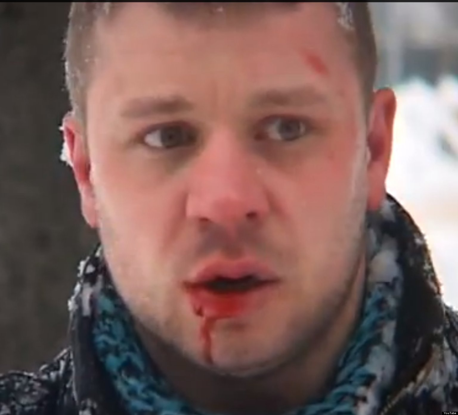 Artem Russia  city images : Artem Kalinin, Russian Gay Activist, Beaten By Local Neo Nazi On ...