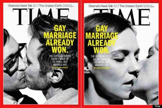 time portada gays besándose