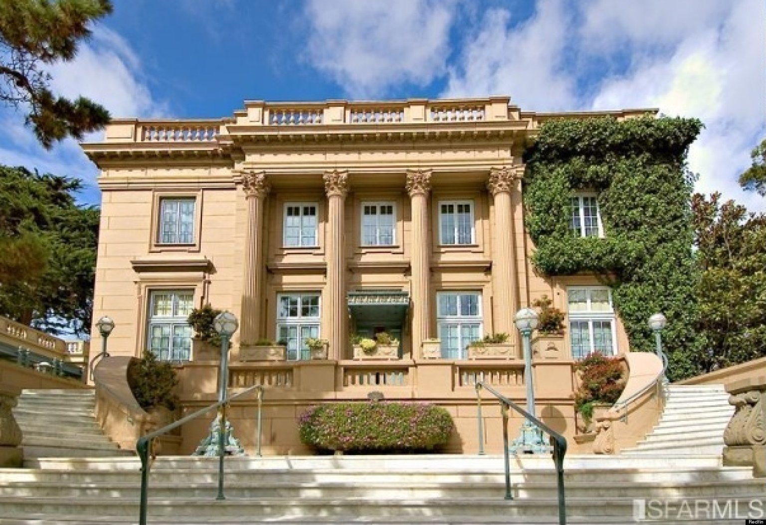 San Francisco Historic Mansion Hits The Market Photos