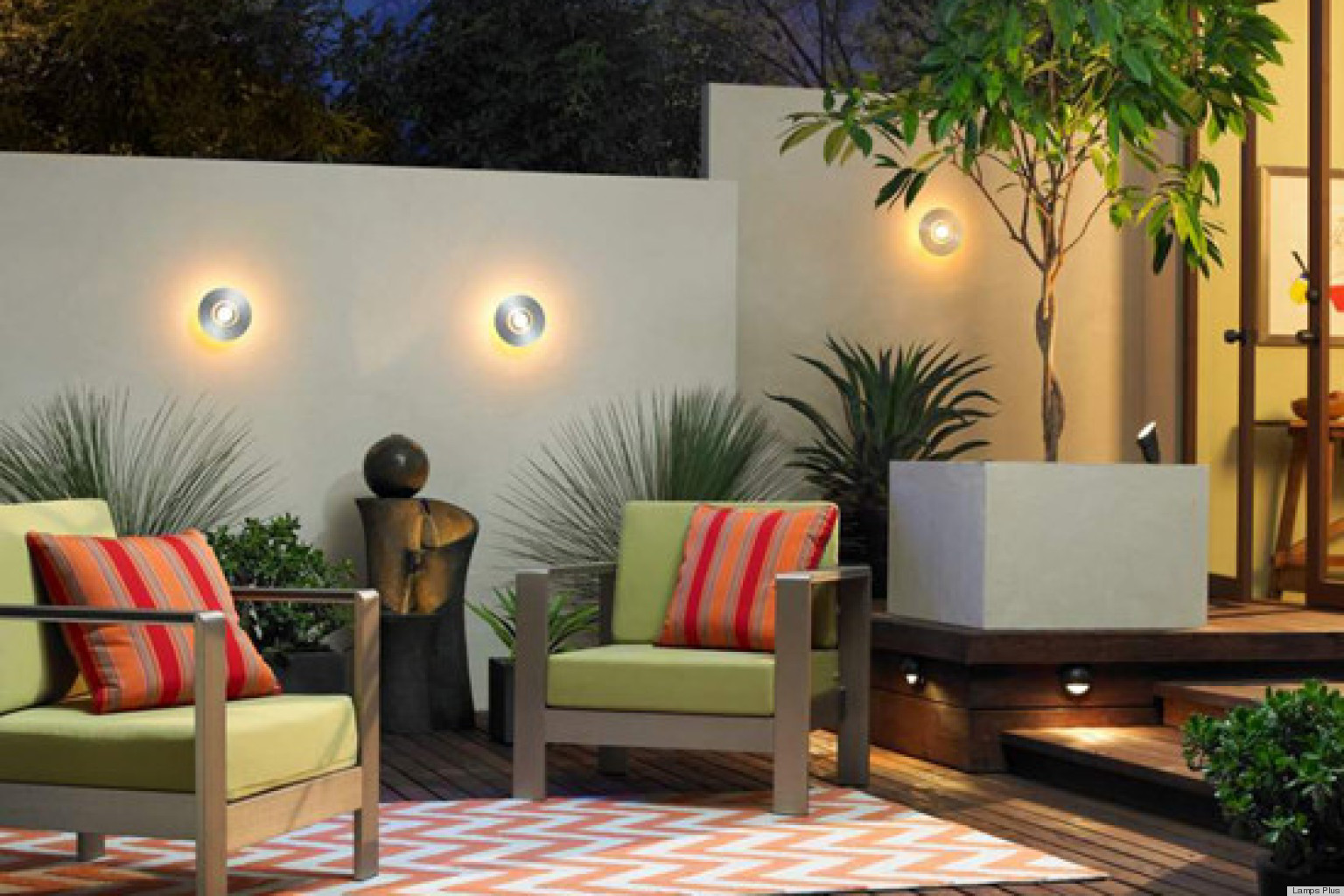 Inexpensive outdoor living spaces pictures to pin on for Outdoor living spaces on a budget