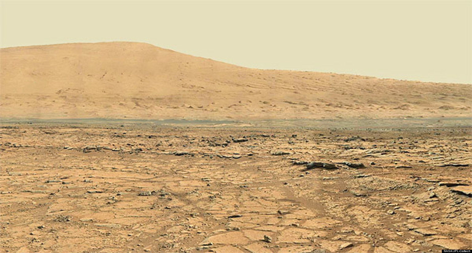 Mars Panorama, Captured By Curiosity Rover, Shows Red ...