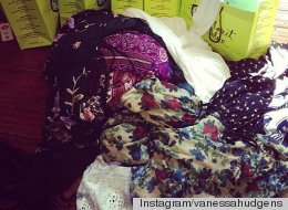 Brace Yourselves, Everyone: Vanessa Hudgens Is Already Stocking Her Coachella Wardrobe