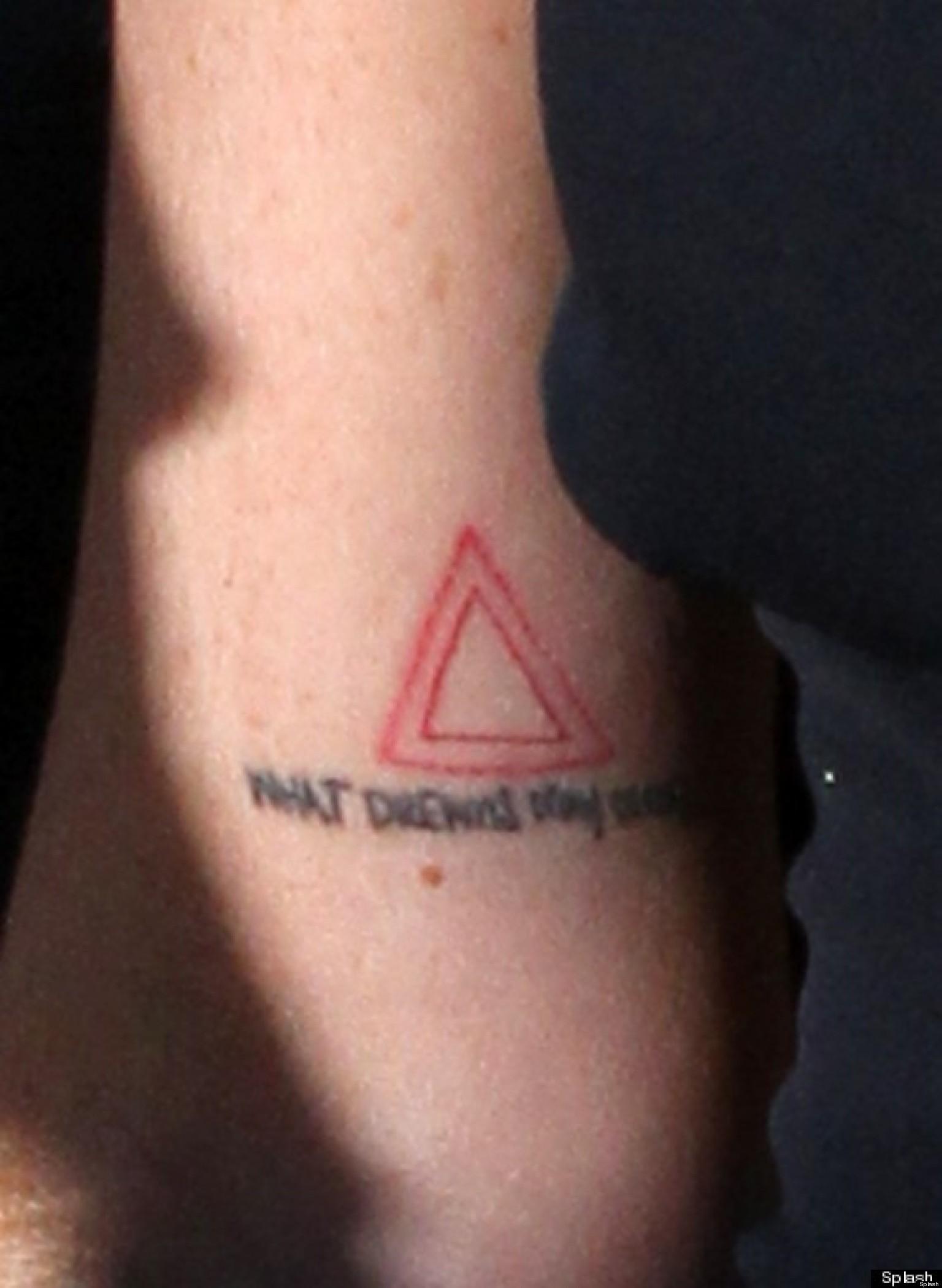 Lindsay Lohan's Tattoos