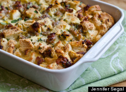 Savory Sausage and Cheddar Bread Pudding: The Ultimate Make-Ahead Brunch Dish