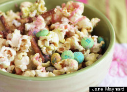 Bunny Bait: Sweet & Salty Popcorn for Easter