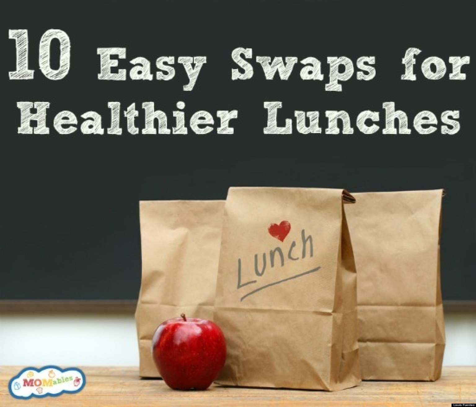 School Lunch Project: 10 Easy Swaps For Healthier Lunches