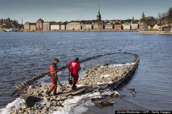 sunken ships sweden