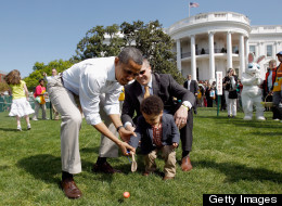 Look Who's Coming To The Easter Egg Roll