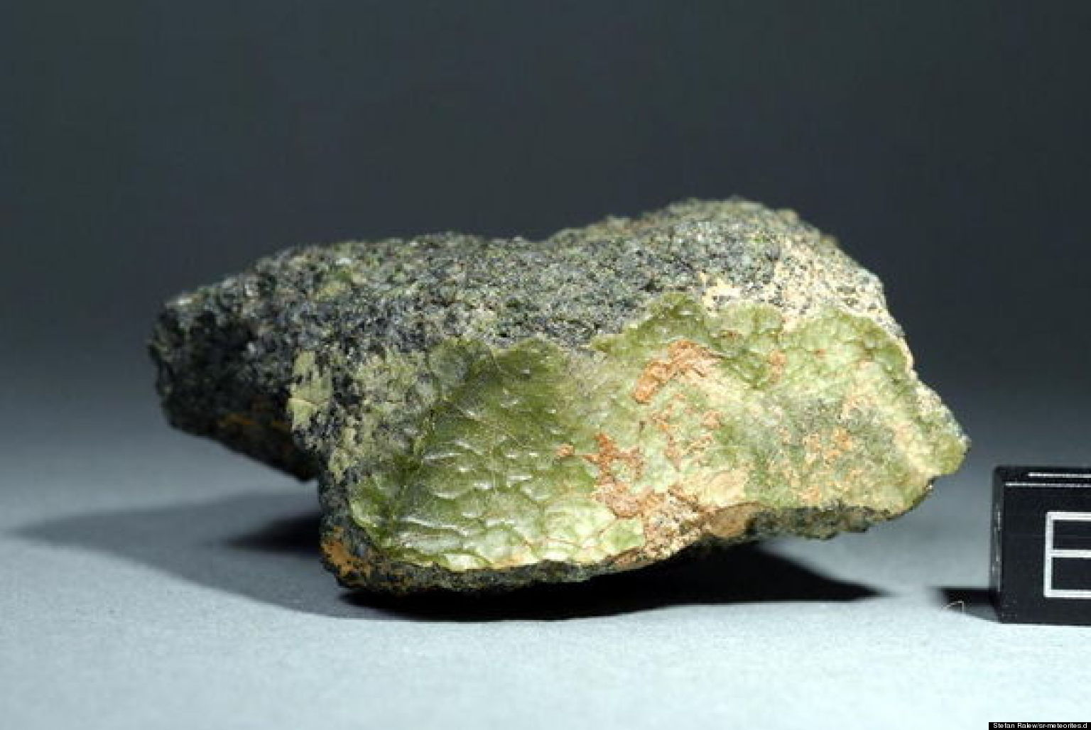 Weird Green Meteorite Came From WHERE?