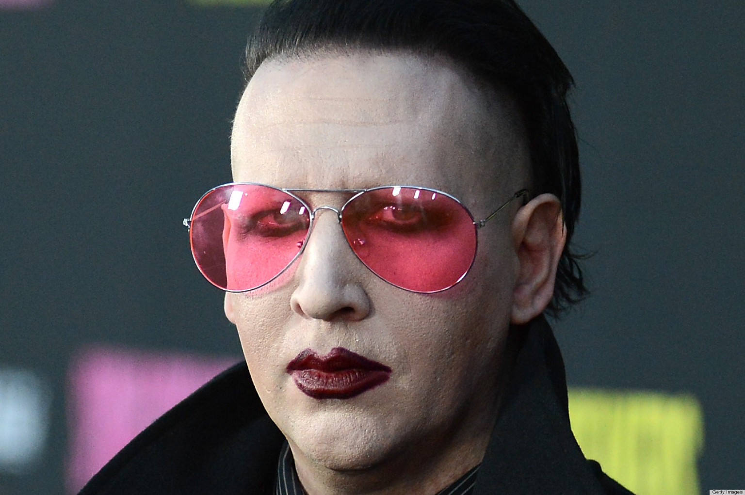 Marilyn Manson In Saint Laurent Ad Takes Us By Surprise