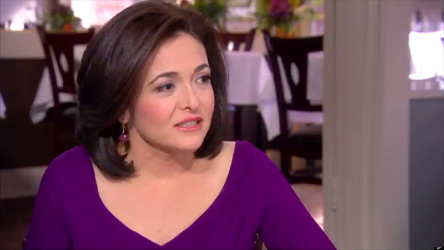 Sheryl sandberg lean in author and facebook coo on the biggest