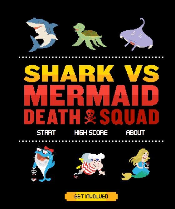 sharks vs mermaid death squad