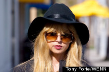 Rachel Zoe Goes Back To Black In LA
