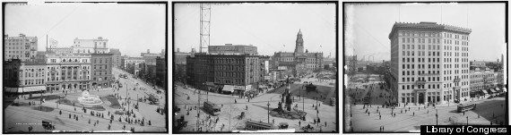 campus martius historic photo detroit