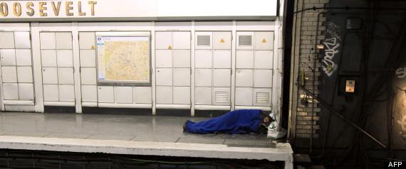 Sdf Metro Paris