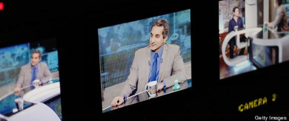 Bashem Youssef Arrest Warrant Egypt Jon Stewart