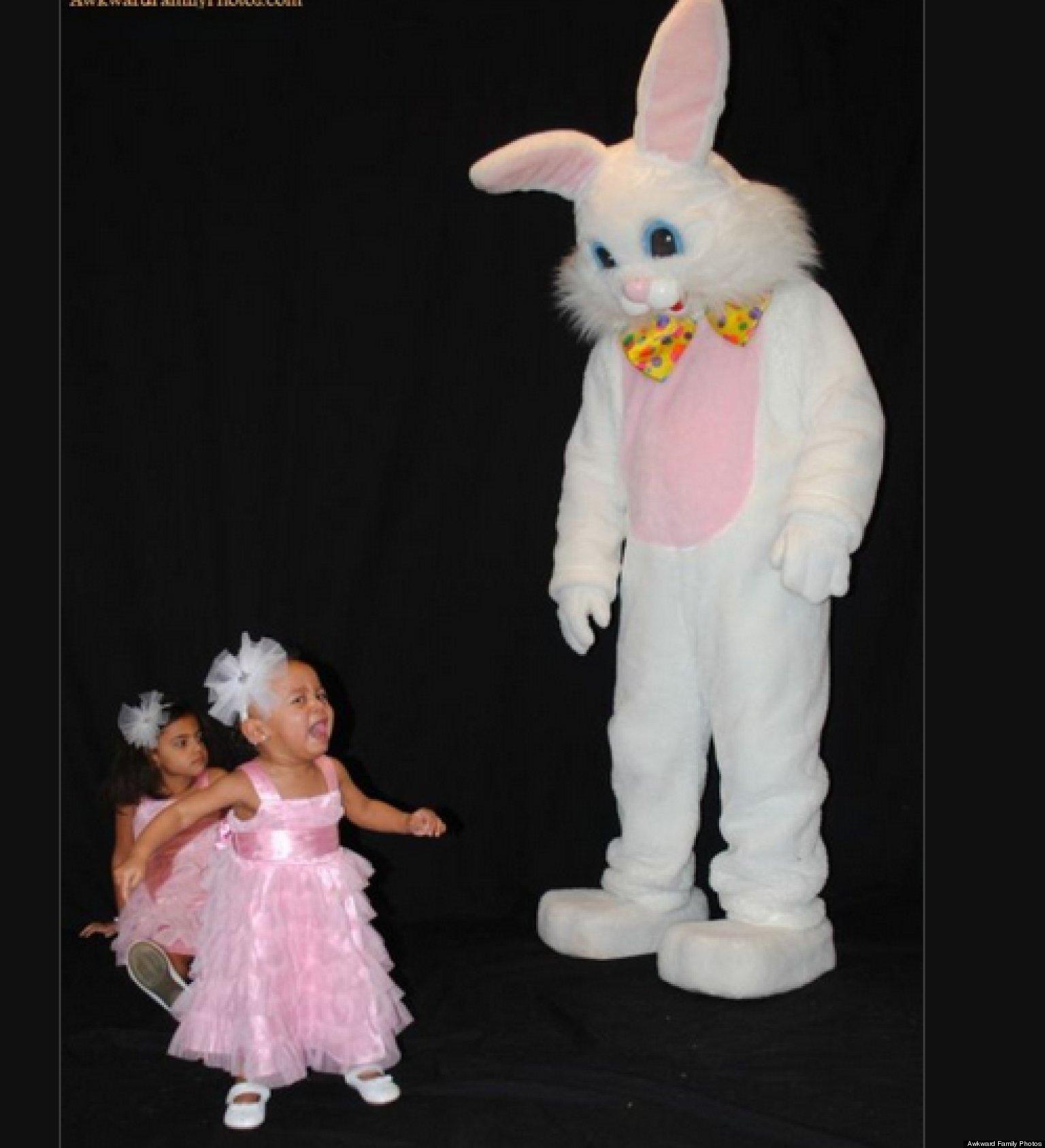 Scary Easter Bunny Photos O-awkward-easter-photos- ...