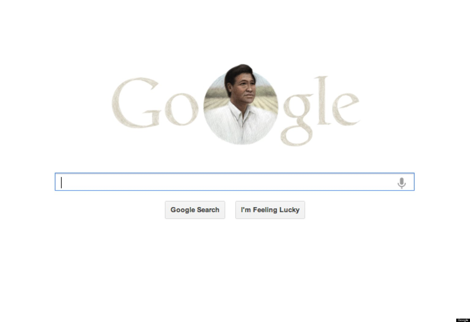 Cesar Chavez Honored With Google Doodle On Easter