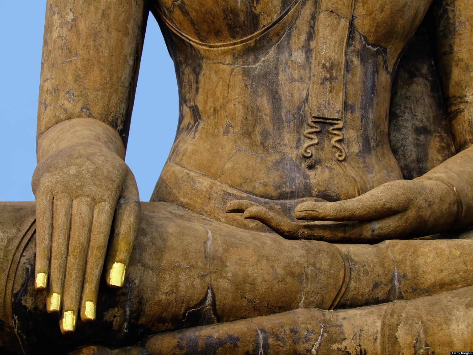 Time And Buddha S Touching The Earth Mudra Cindy Bird