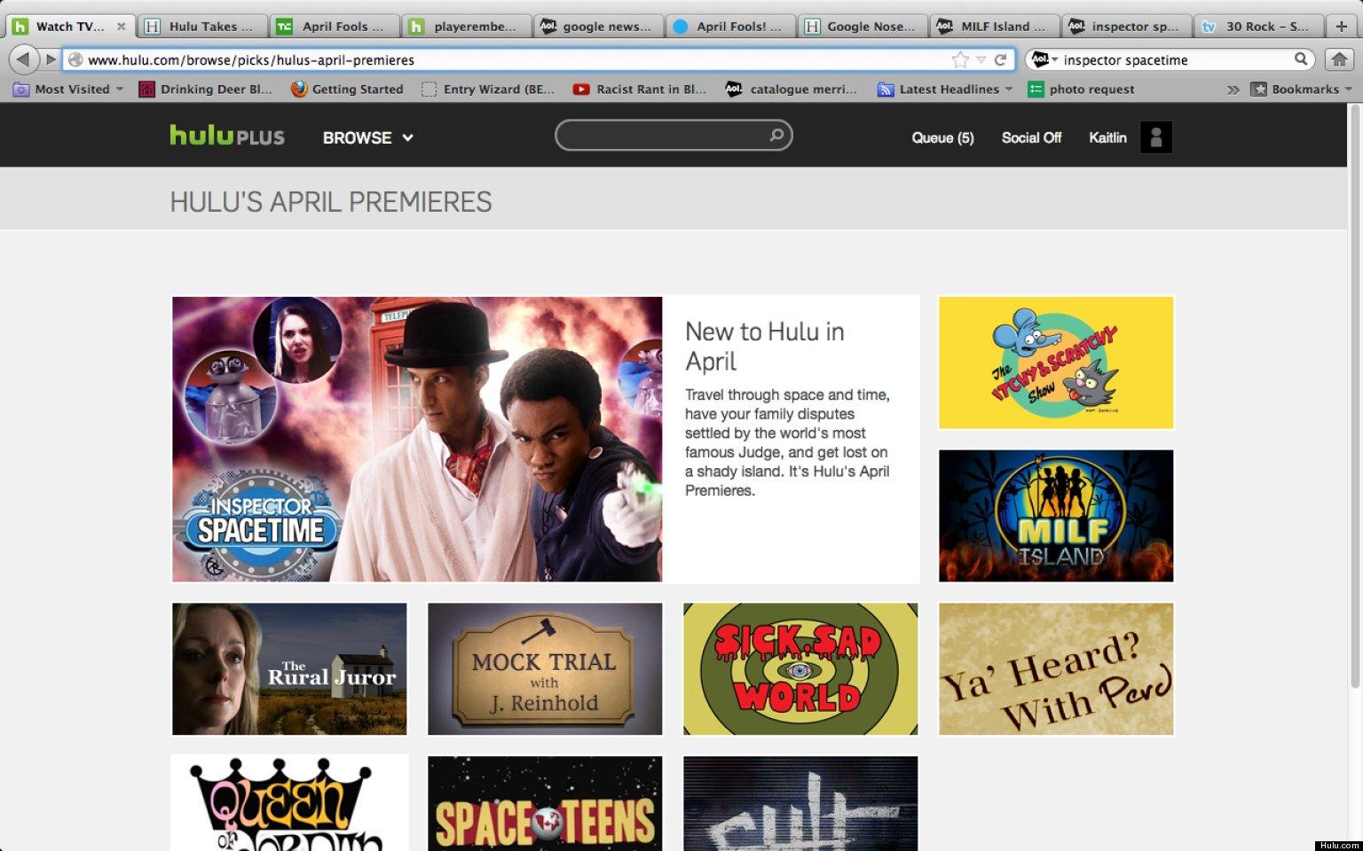 'MILF Island' On Hulu?