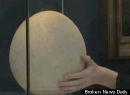 NO YOLK! World's Largest Egg Could Sell For More Than $45,000