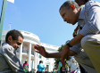 Obama Comforts Crying Boy At Easter Egg Roll (PHOTO)
