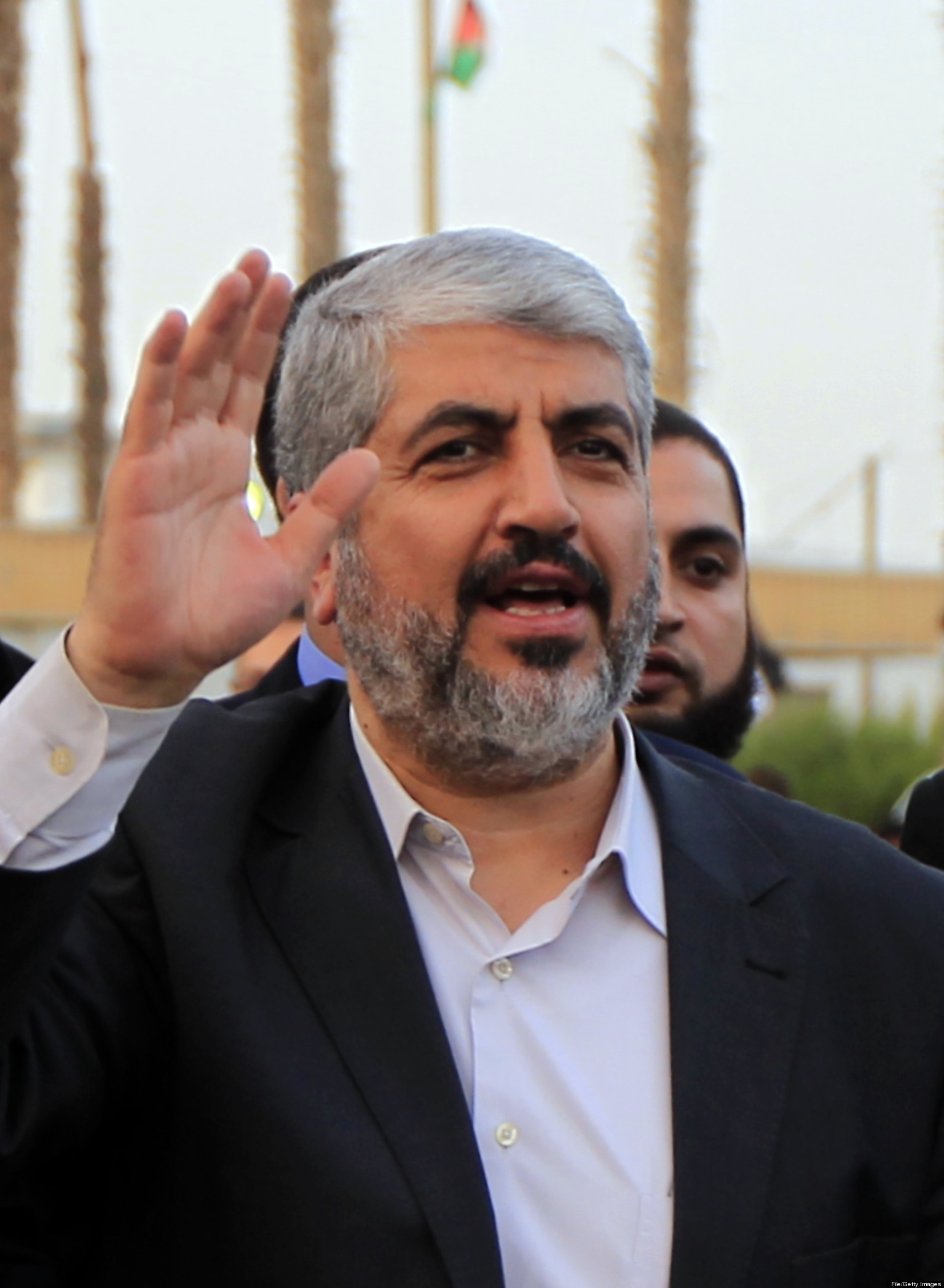 Khaled Meshaal Re-Elected Leader Of Hamas   HuffPost