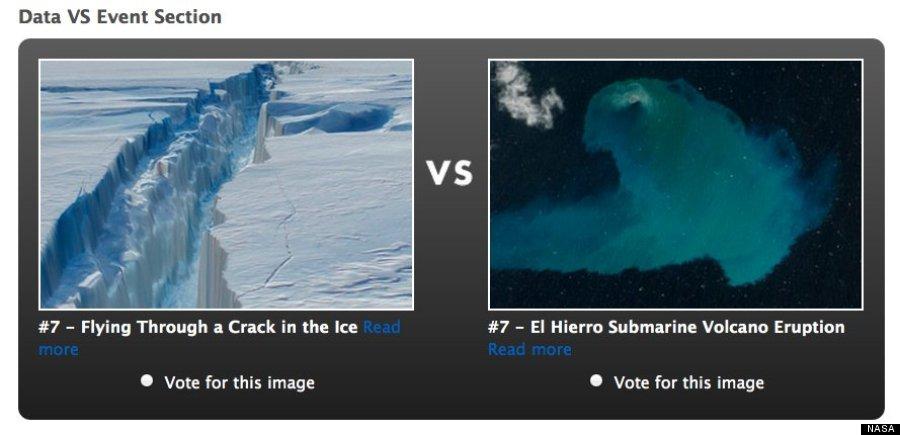votar fotografía el hierro nasa