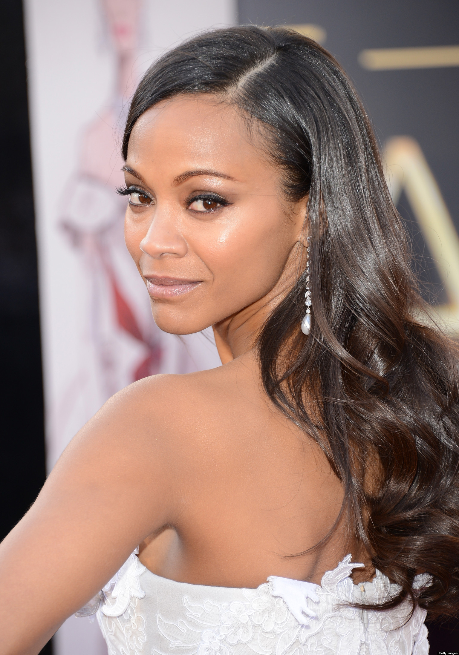 Zoe Saldana Considers Chopping Off Her Hair Zoe Saldana